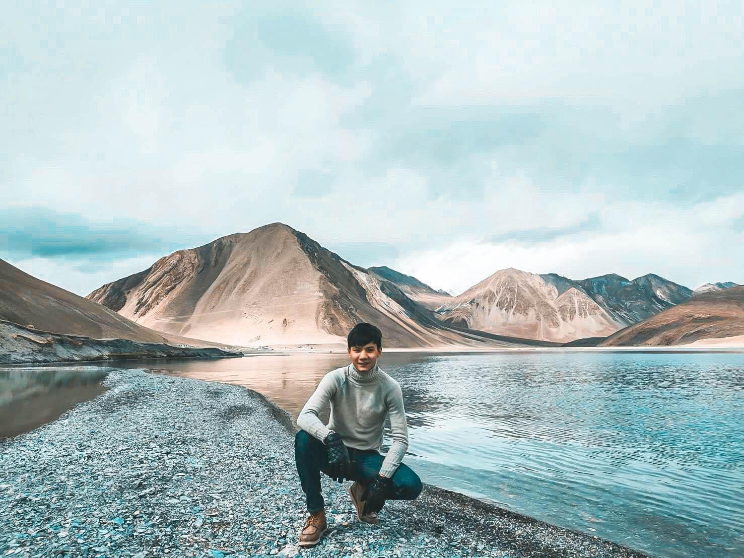 ทะเลสาบ pangong ทัวร์เลห์ ลาดักห์ เที่ยวเลห์ ลาดักห์ Leh Ladakh Tour leh ladakh
