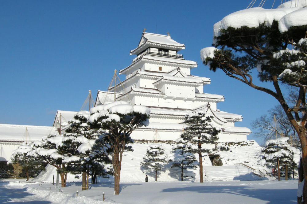 ทัวร์ญี่ปุ่น ฟุกุชิมะ fukushima ปราสาทสึรุกะ