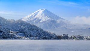 หิมะ หน้าหนาว ฟูจิ