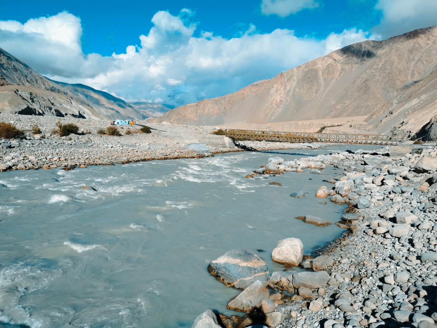 แม่น้ำ Shayok ทัวร์เลห์ ลาดักห์ เที่ยวเลห์ ลาดักห์ Leh Ladakh Tour leh ladakh