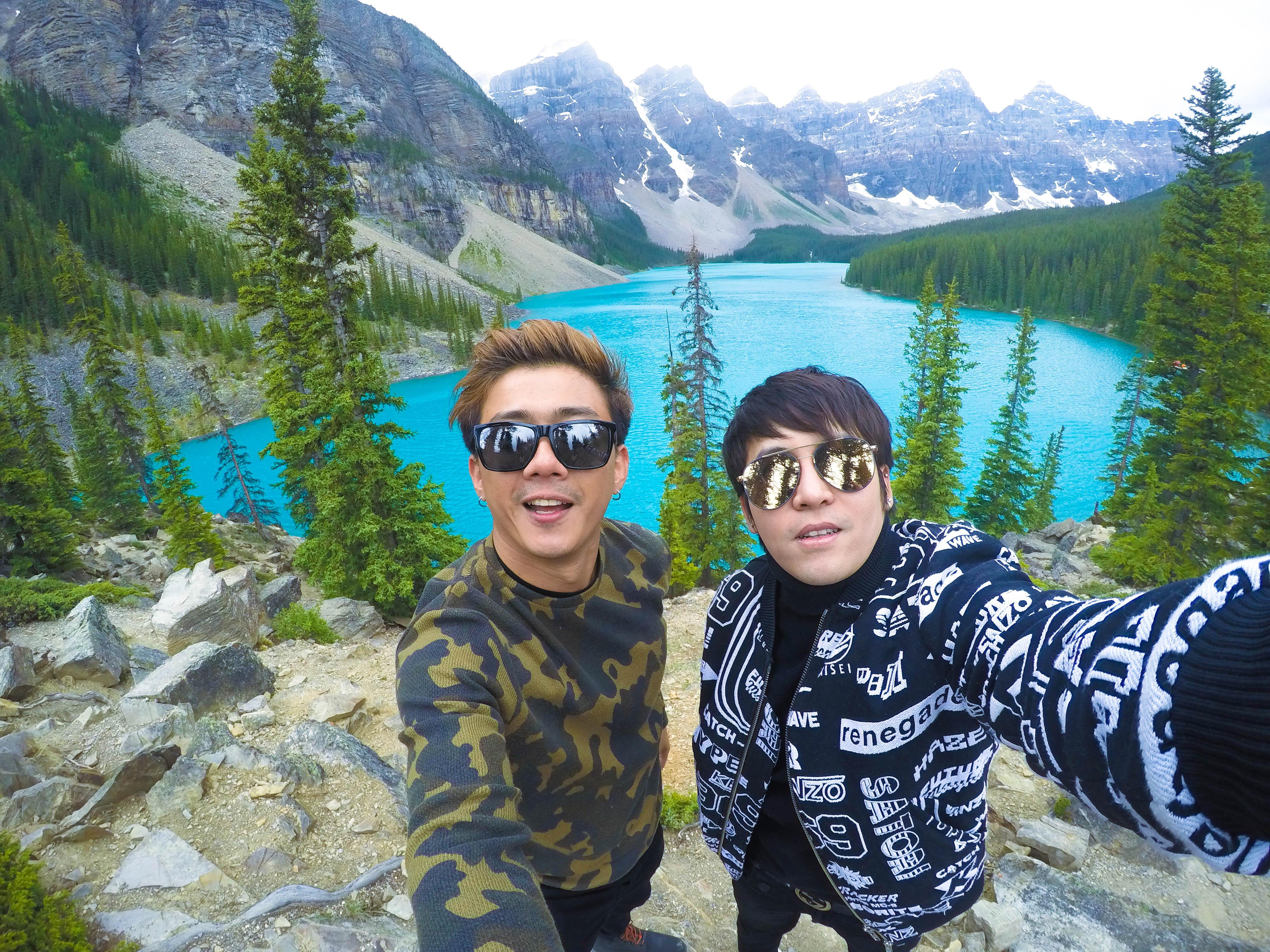 Moraine Lake เที่ยวแคนาดา ทัวร์แคนาดา