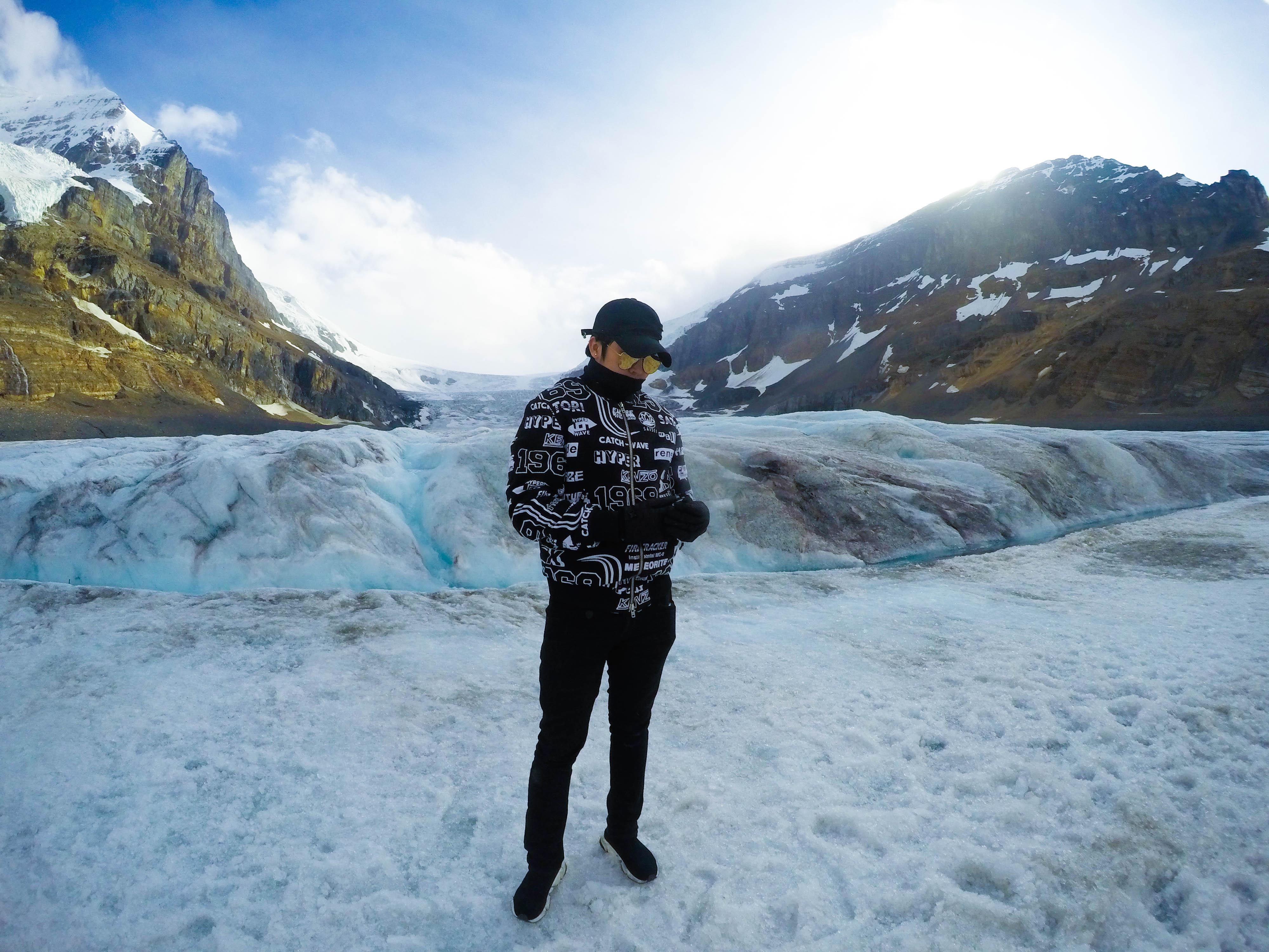 Columbia Ice Field เที่ยวแคนาดา ทัวร์แคนาดา