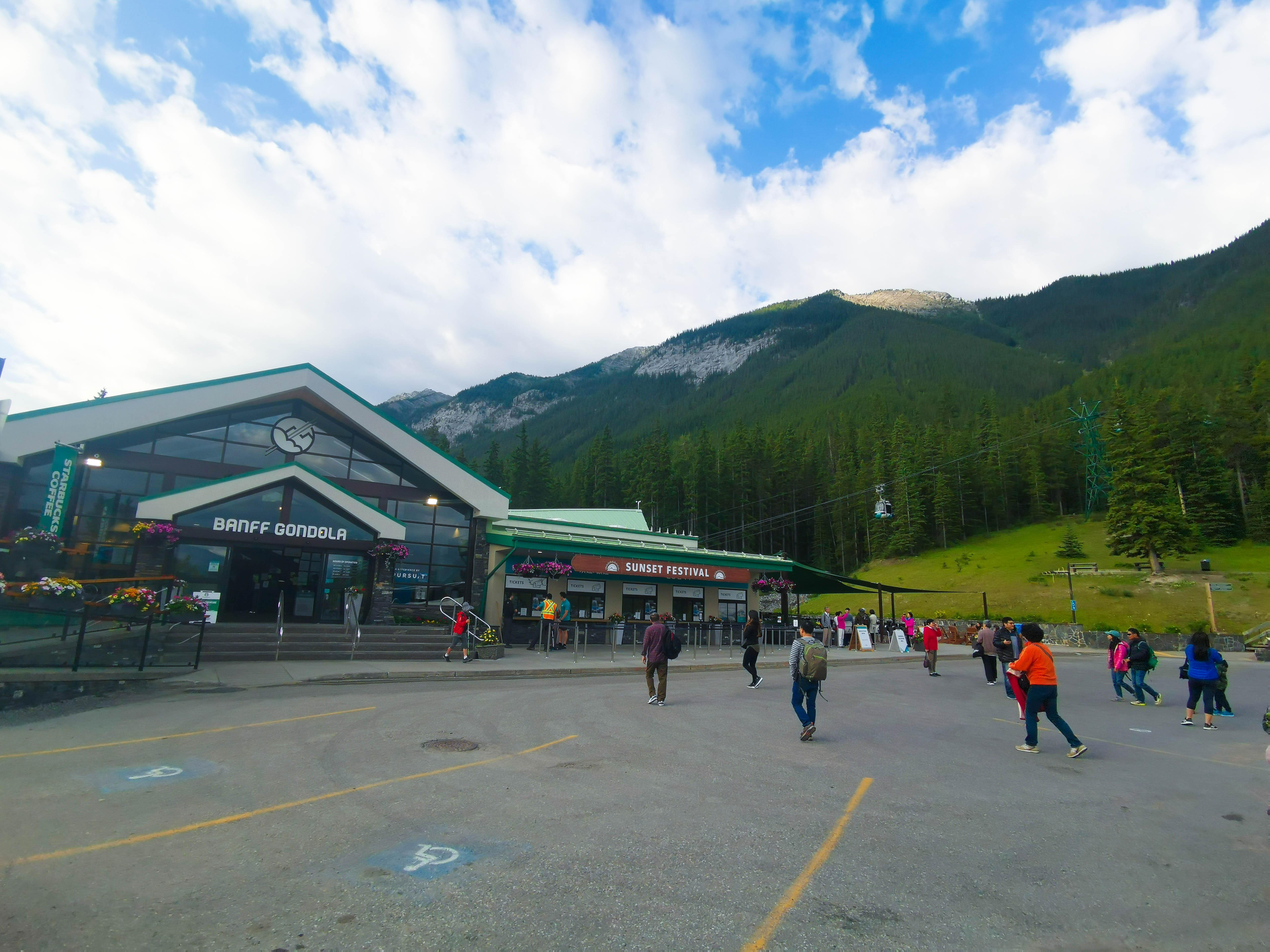 อุทยานแห่งชาติบานฟ์ (Banff National Park) เที่ยวแคนาดา ทัวร์แคนาดา