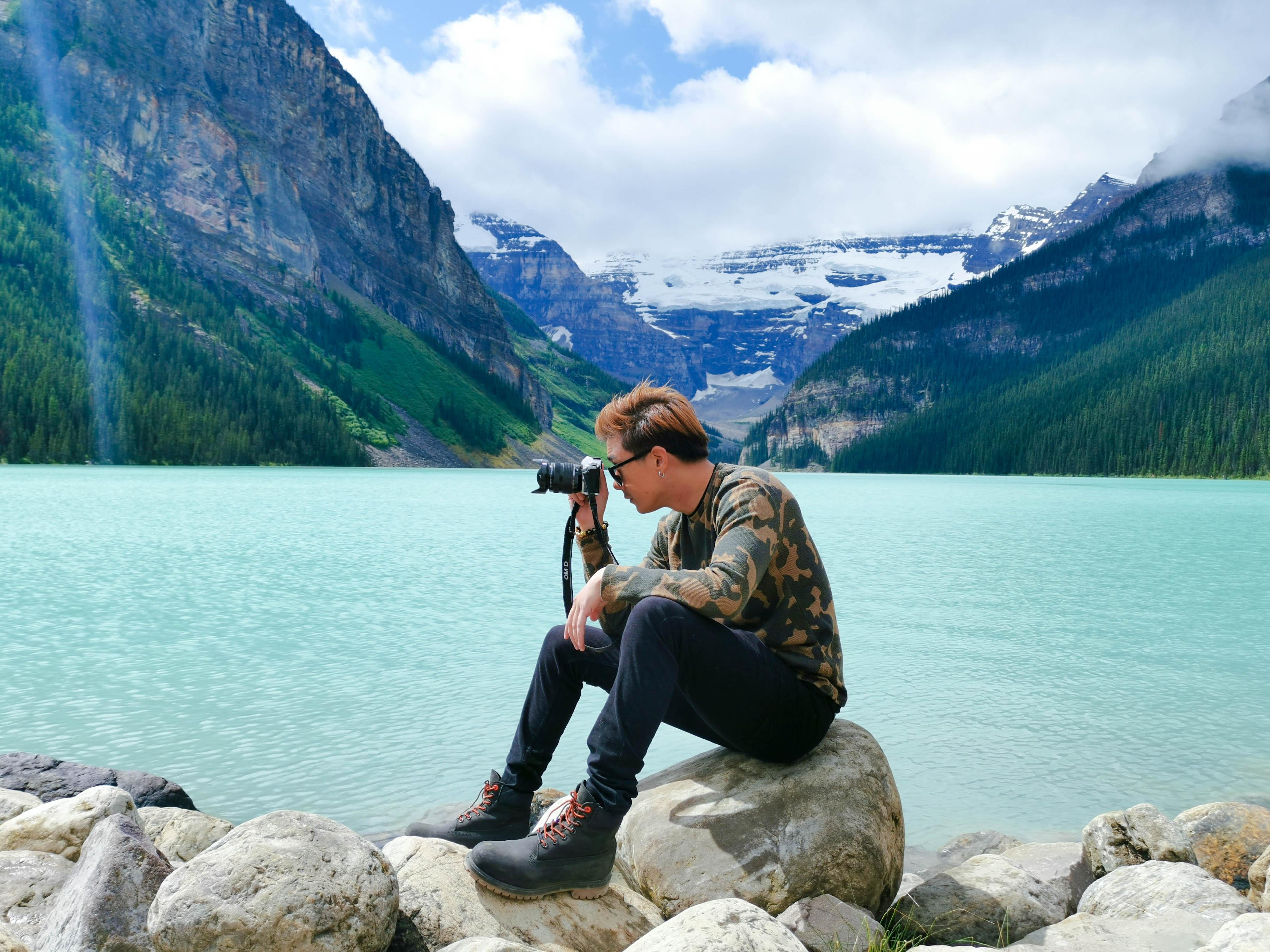Lake louise เที่ยวแคนาดา ทัวร์แคนาดา