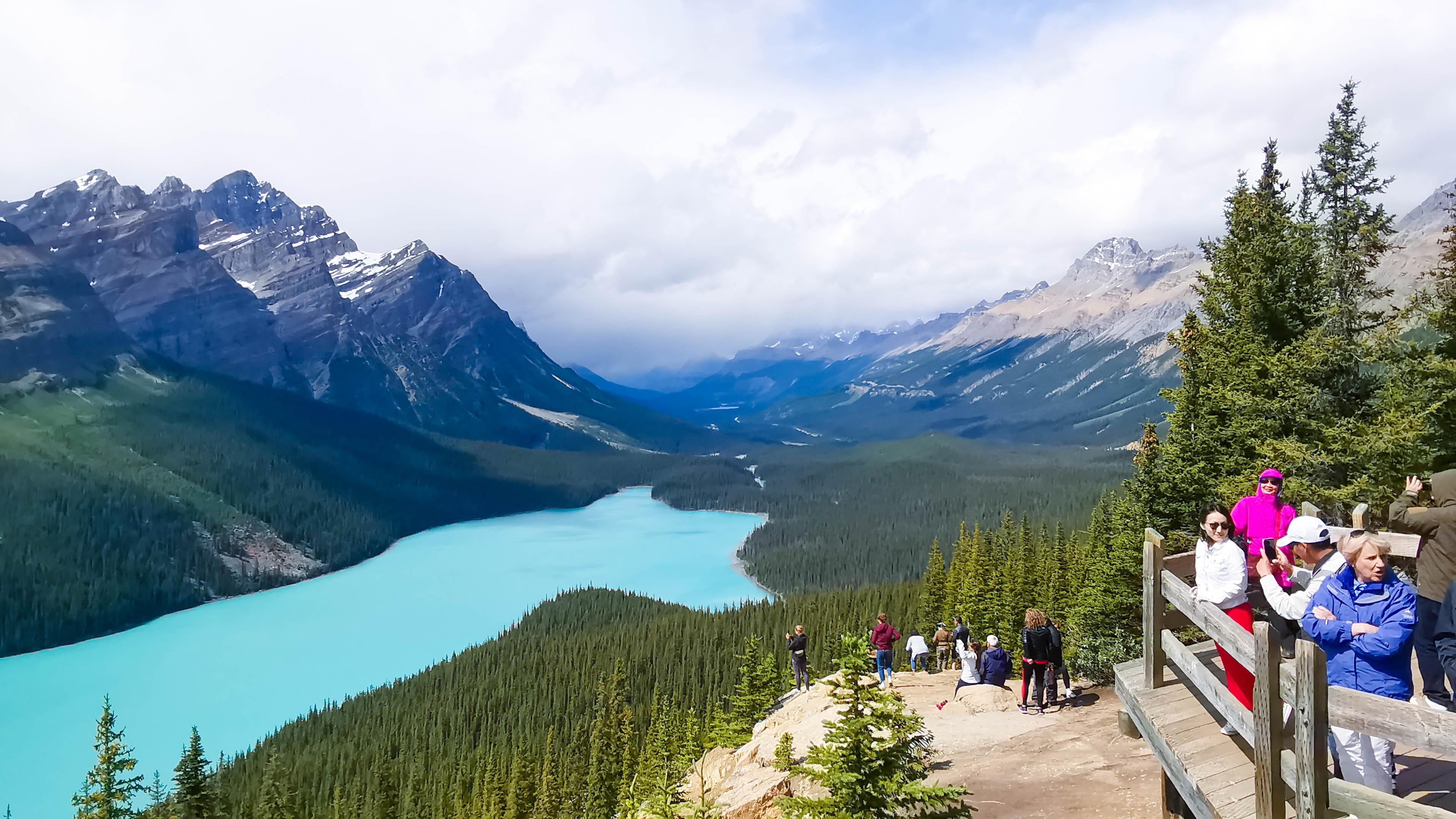 Peyto Lake เที่ยวแคนาดา ทัวร์แคนาดา