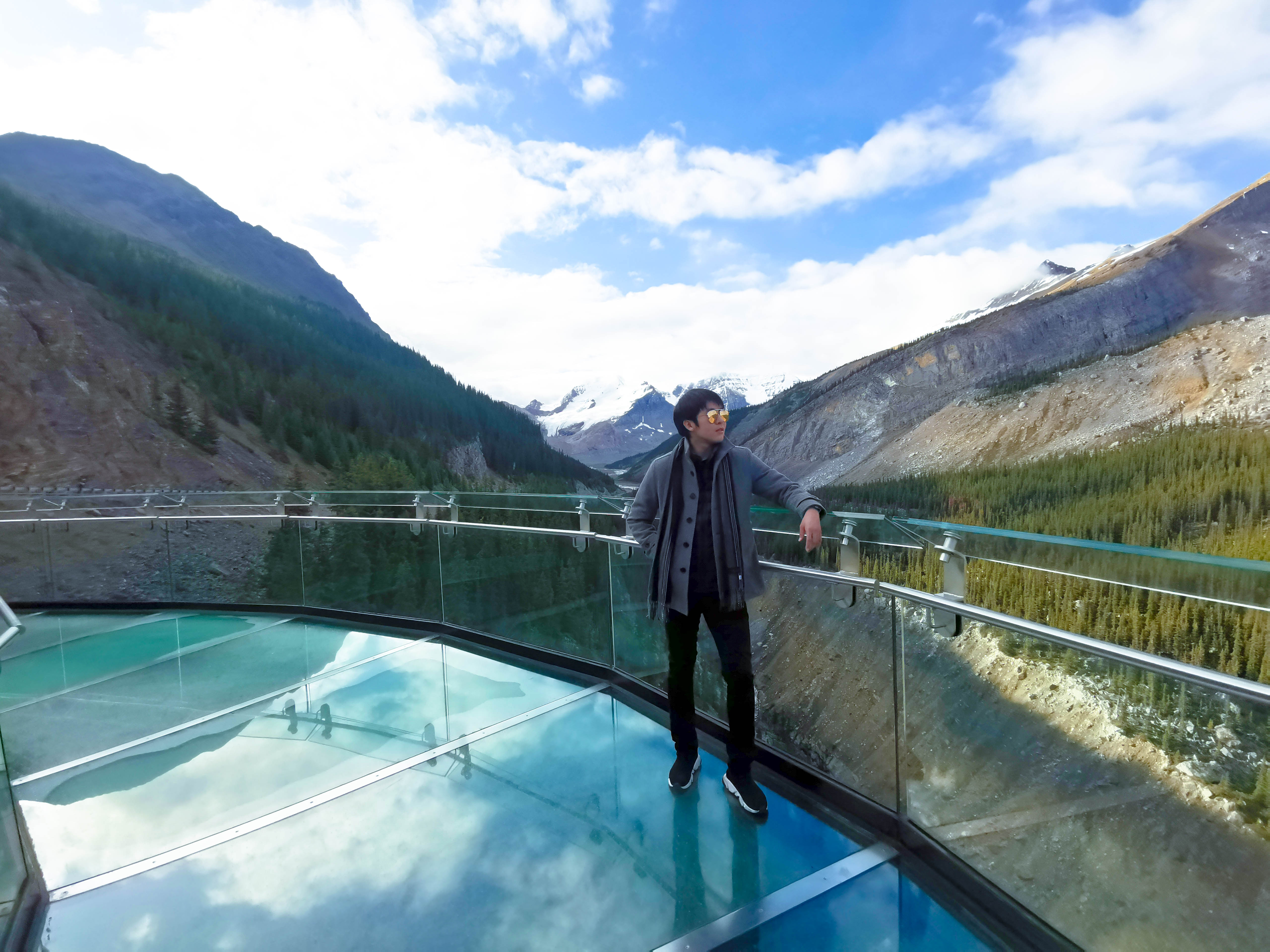 Glacier Skywalk เที่ยวแคนาดา ทัวร์แคนาดา