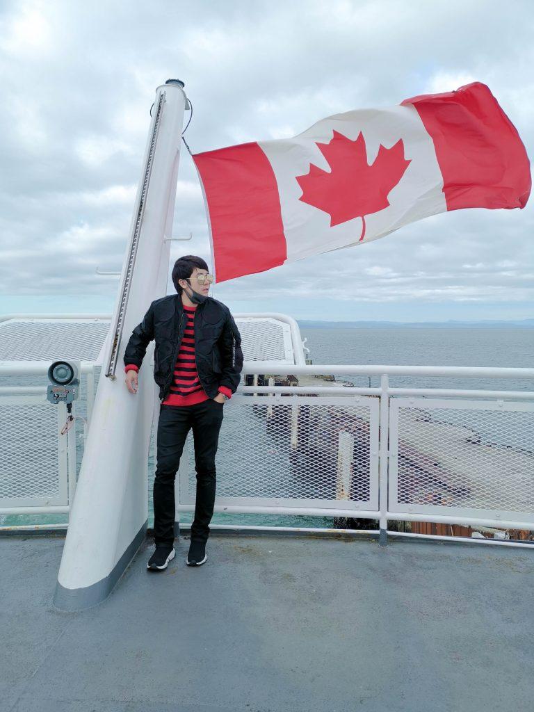 ช่องแคบจอร์เจีย (Strait of Georgia) เที่ยวแคนาดา ทัวร์แคนาดา