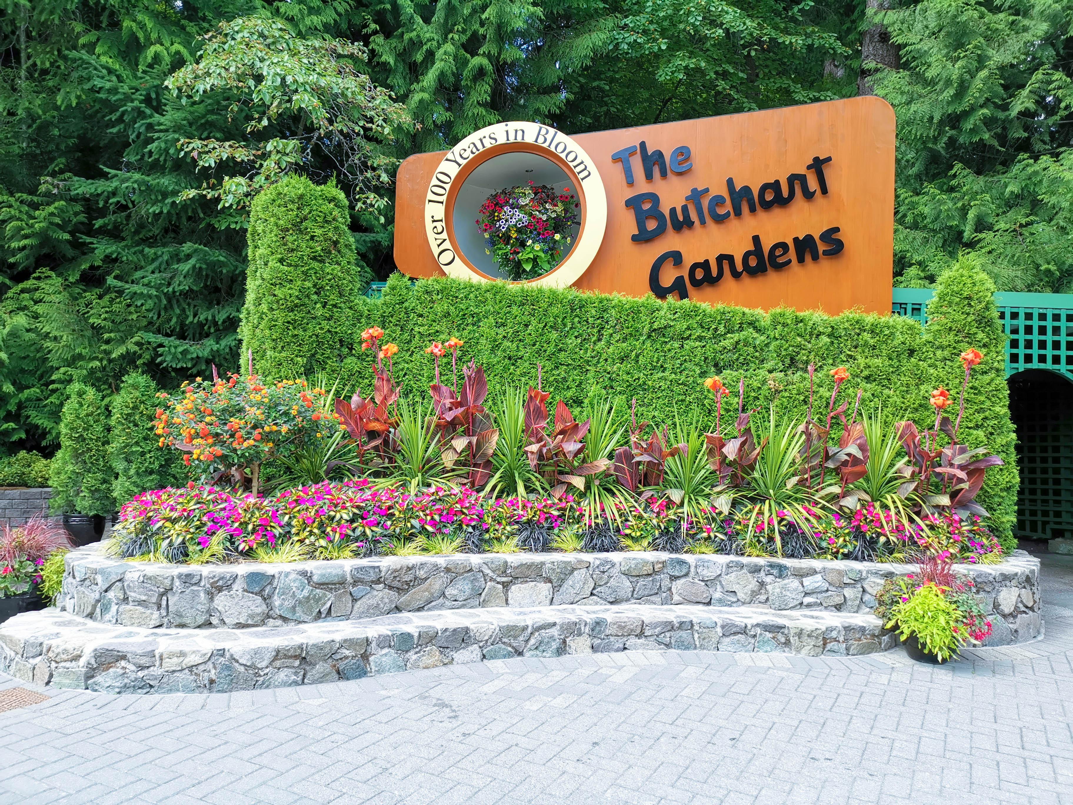 สวนบูชาร์ด (Butchart Garden) เที่ยวแคนาดา ทัวร์แคนาดา