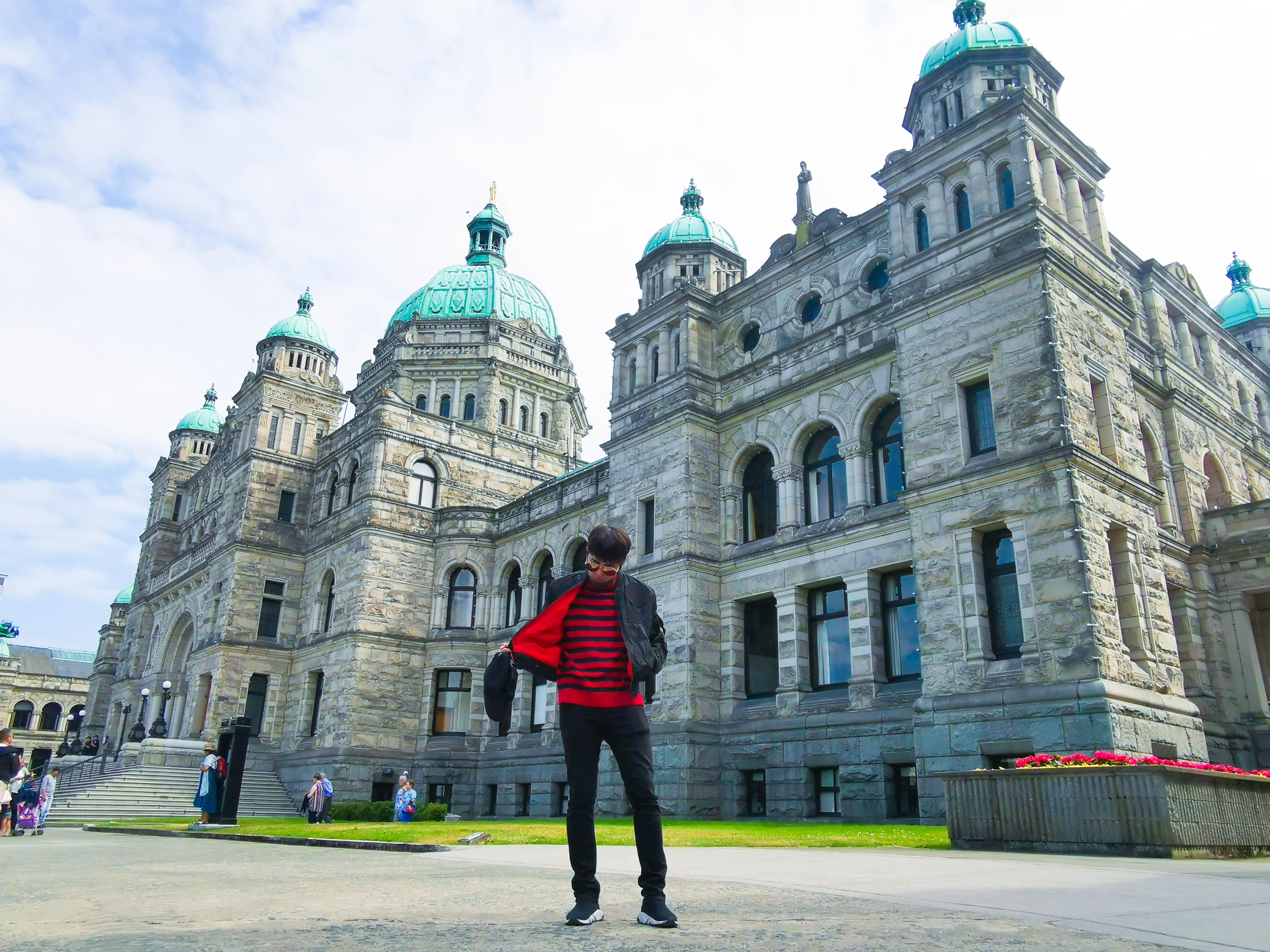 อาคารรัฐสภาในเมืองวิคตอเรีย เที่ยวแคนาดา ทัวร์แคนาดา