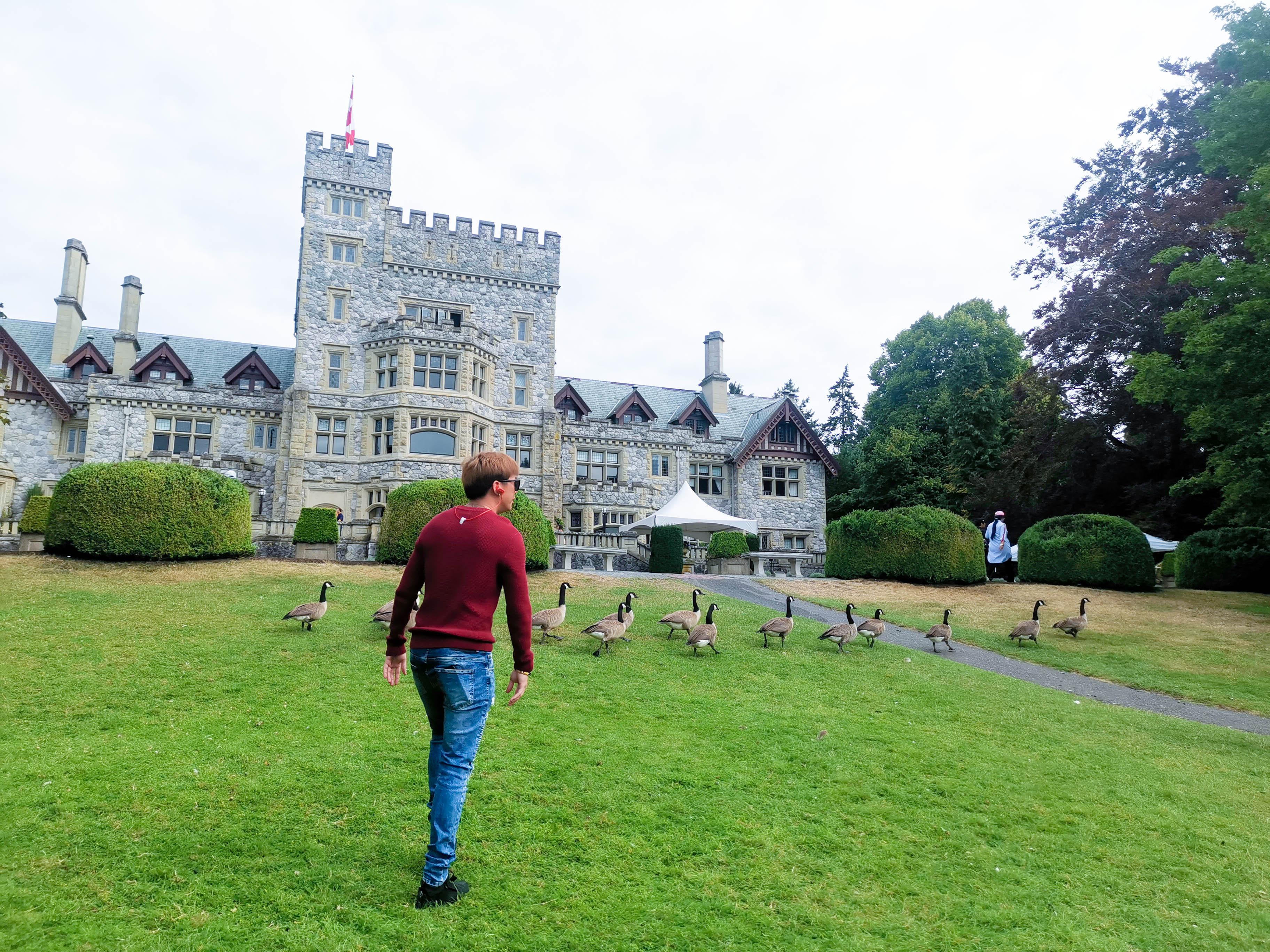 ปราสาทเครดดารอด (Craigdarroch Castle Historical Museum)