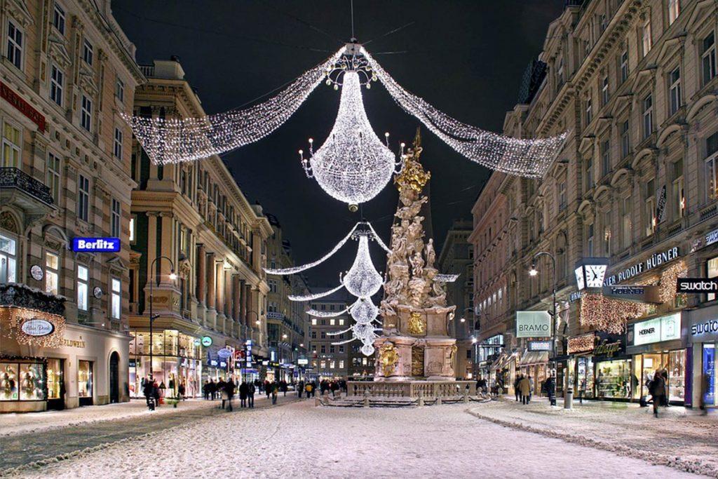 Vienna, Austria ทัวร์หน้าหนาว ทัวร์ปีใหม่