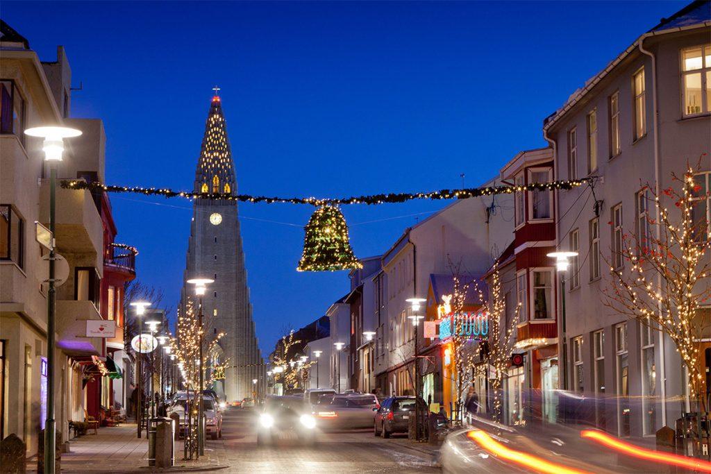 Reykjavik, Iceland ทัวร์หน้าหนาว ทัวร์ปีใหม่