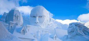 หิมะ หน้าหนาว Sapporo Snow Festival