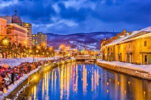 หิมะ หน้าหนาว Otaru Snow Light Path Festival