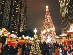 คริสต์มาส หิมะ จีน